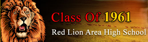 Class Of 1961 Red Lion Area High School